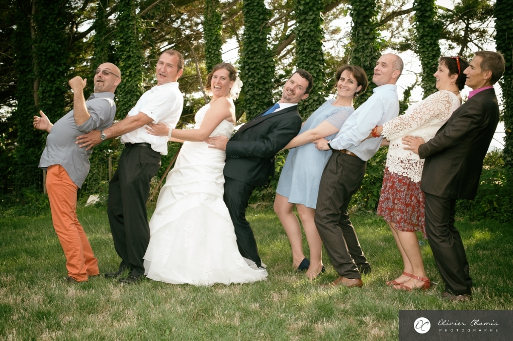 olivier chomis photographie les groupes dans les mariages