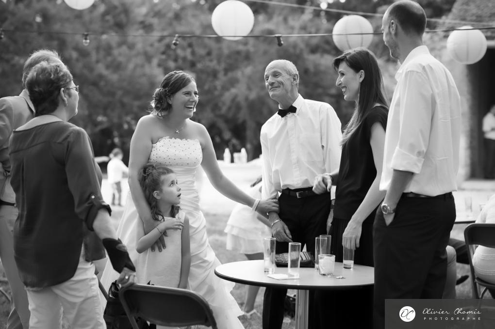 olivier chomis aime ces moments joyeux que sonrt les mariages