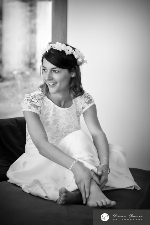 la mariée par photographe valence