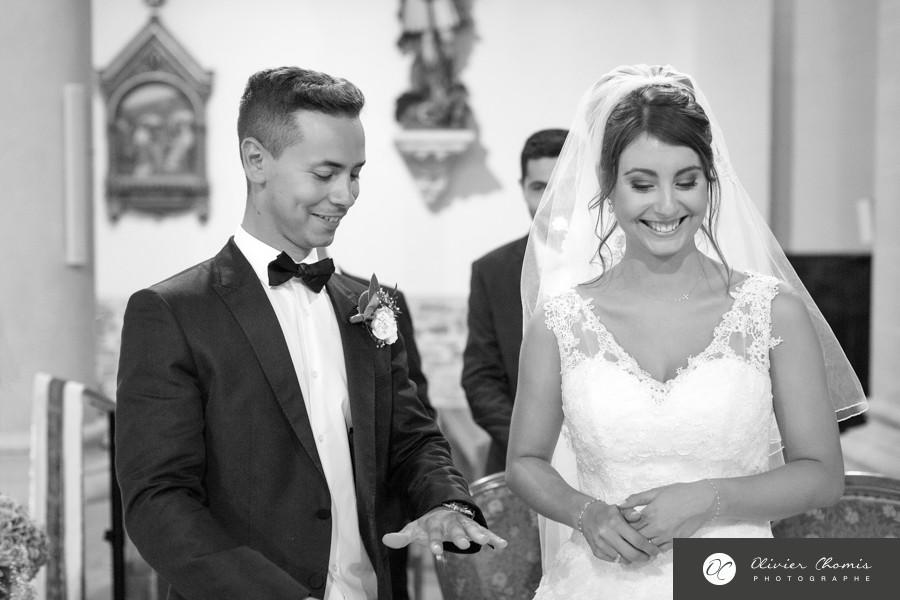 photographies noir et blanc de mariage à valence